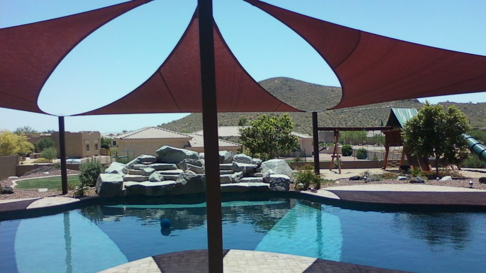 Arizona Shade Sails Top Rated Canopies Patio Covers