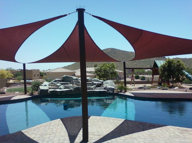 Arizonau0027s Top Rated Shade Sail u0026 Sun Shade Experts & Arizona Shade Sails - Top Rated Canopies Patio Covers u0026 Pool Shades