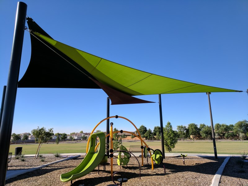 playground shade structure az & Top Rated Playground Shade Sails in Arizona - Arizona Shade Sails