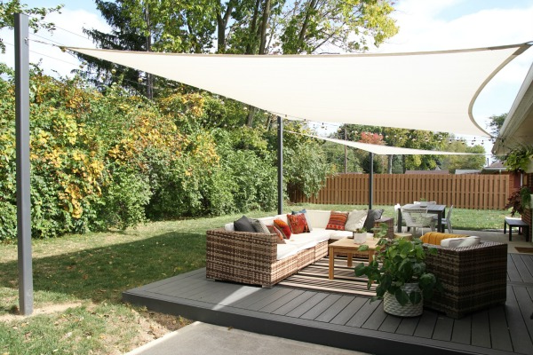 Shade Sails Are The #1 Best Option for Outdoor Shade ...
