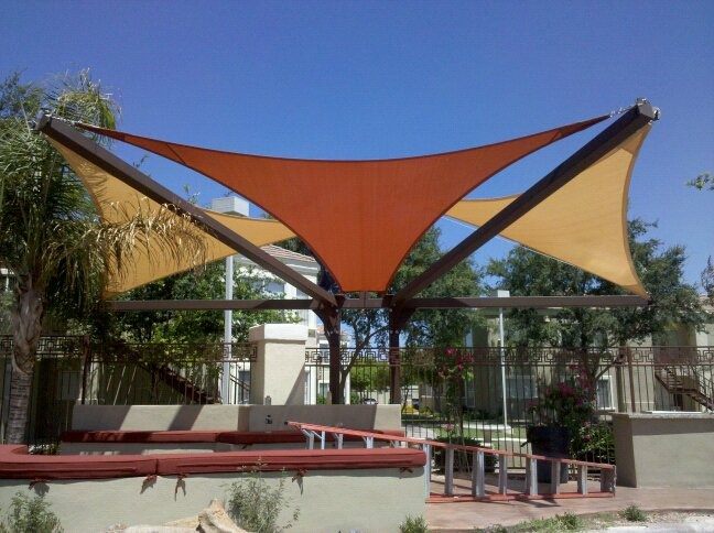 Arizona Shade Sails Top Rated Canopies Patio Covers Pool Shades